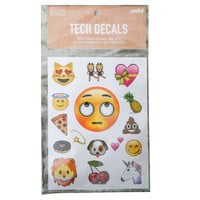Rolling Eyes Emoji Tech Decals