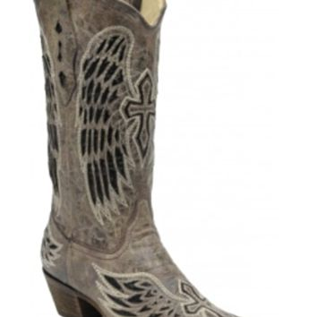 Corral Wing & Cross Sequence Boots