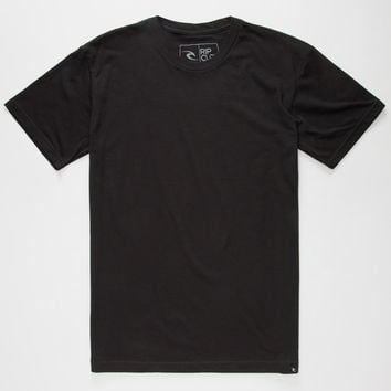 Rip Curl Core Cvc Mens T-Shirt Black  In Sizes