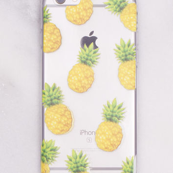 Fruity Pineapple iPhone Case
