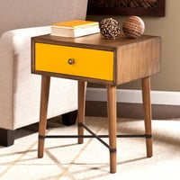 Norwich Accent Table, Yellow