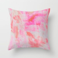Serenity Throw Pillow by Georgiana Paraschiv