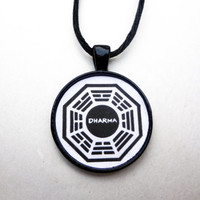 Dharma Pendant Necklace - Lost TV Necklace