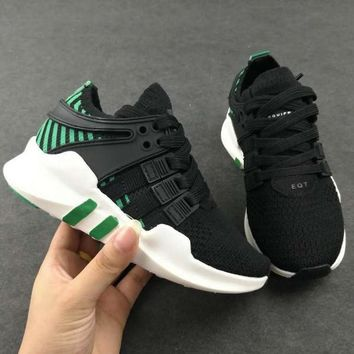 ADIDAS EQT Girls Boys Children Baby Toddler Kids Child Durable Breathable Sneakers Sport Shoes