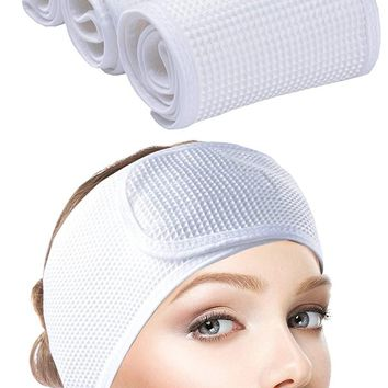 Sinland Facial Spa Headband For Washing Makeup Cosmetic Shower Soft Women Hair