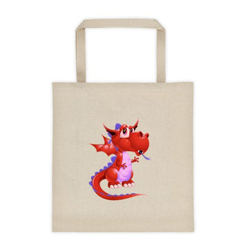 Draco Red Tote bag