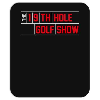 my best round is the 19th hole funny golf drinking Mousepad