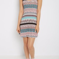 Paisley Folklore Keyhole Swing Dress | Casual Dresses | rue21