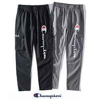 Champion Newest Fashion Casual Print Sport Pants Trousers Sweatpants