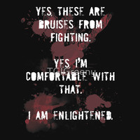 Fight Club - Bruises (Dark Shirt) T-Shirts & Hoodies