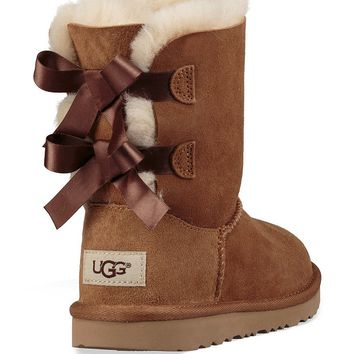 UGG® Girls´ Bailey Bow II Boots | Dillards