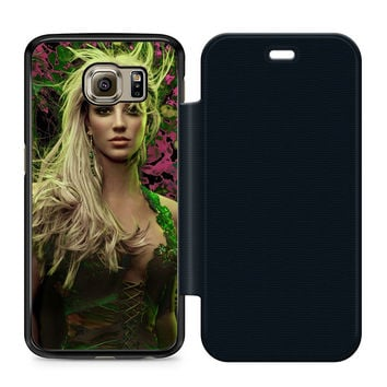 Young Britney Spears Flip Samsung Galaxy S6 Case