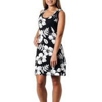 Alki'i Missy Hibiscus Tank Top Summer Beach Sun Dress - OahuPrint