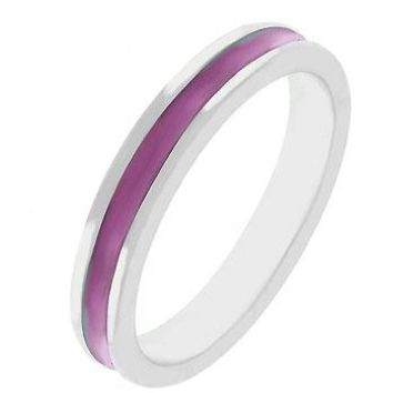 Fun For Eternity Ring In Fuchsia (size: 10) (pack of 1 EA)