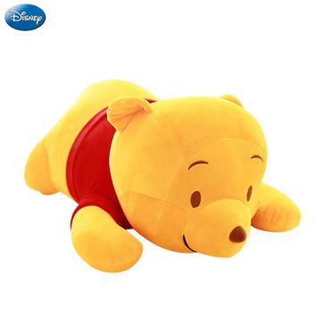 Disney Cute Winnie the Pooh Plush Animal Stuffed Toy Body Pillow PP Cotton Doll Birthday Christmas Present Children Girl Toy