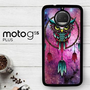 Dreamcatcher Owl R0109  Motorola Moto G5S Plus Case