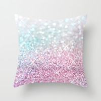 Pastel Winter Throw Pillow by Lisa Argyropoulos | Society6