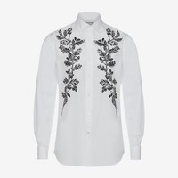 Floral Embroidered Shirt | Alexander McQueen