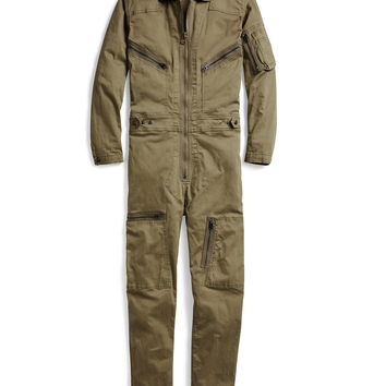 COTTON TWILL MILITARY COVERALL
