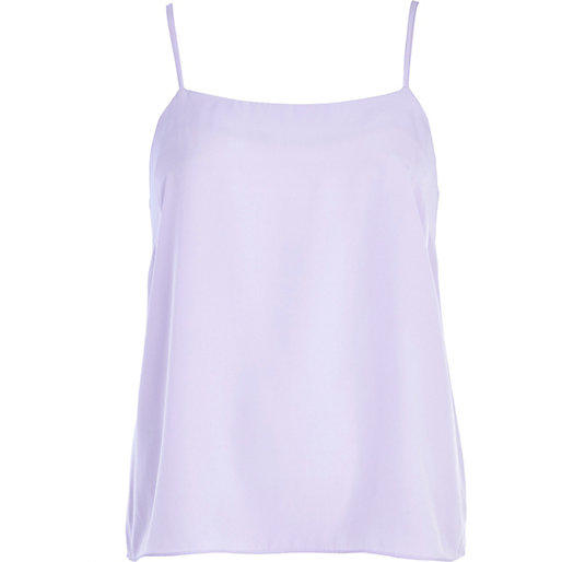River Island Womens Light Purple Cami Top From River Island
