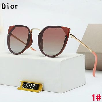 Dior Popular Women Fashion Leisure Shades Eyeglasses Glasses Sunglasses 1#