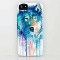 Wolf iPhone & iPod Case by Slaveika Aladjova
