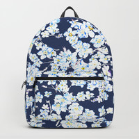 flower pattern 1 Backpacks by Color and Color