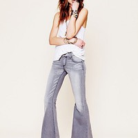 Free People Womens Denim Super Flare