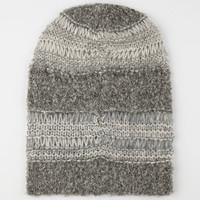 Multi Knit Beanie Grey One Size For Women 24521111501