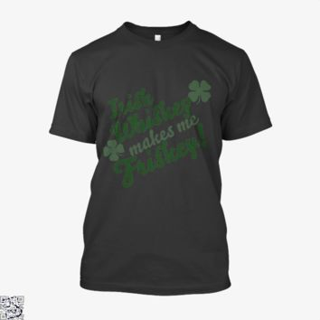 Whiskey, Irish Clover Shirt