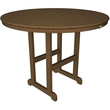 "Trex Outdoor Furniture Monterey Bay Round 48"" Counter Table"