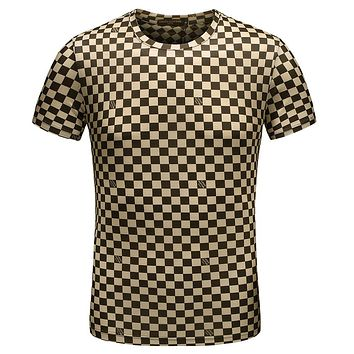 Trendsetter Louis Vuitton  Women Men Fashion Casual Shirt Top Tee