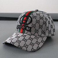 Gucci Embroidered Woman Men Fashion Sport Baseball Hat Cap