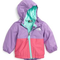 The North Face Warm Storm Hooded Waterproof Jacket (Baby Girls) | Nordstrom