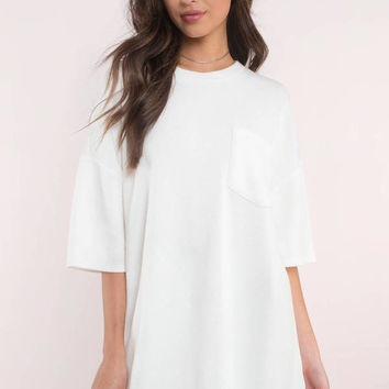 Kendall Short Sleeve Shift Dress