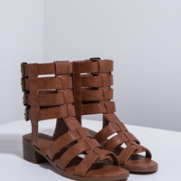 Quad Buckle Caged Sandals GoJane.com