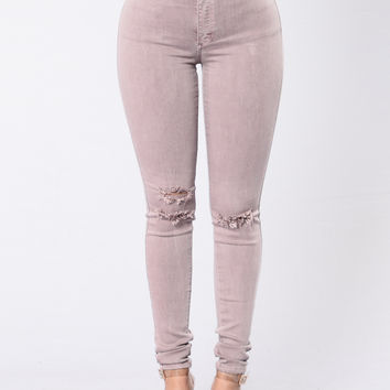 Lost Queen Jeans - Woodrose