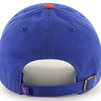 New York Mets MLB '47 Brand Clean Up Adjustable Cap Blue