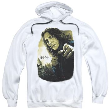 Harry Potter - Snape Poster Adult Pull Over Hoodie Officially Licensed Apparel