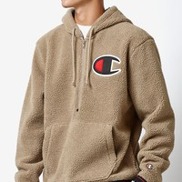 Champion Big C Sherpa Pullover Hoodie at PacSun.com