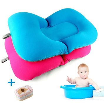 New design Foldable Baby bath tub/bed/pad bath chair/shelf baby shower nets newborn baby bath seat infant bath bathtub support