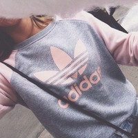Adidas Pullover Tops Sweater Sweatshirts