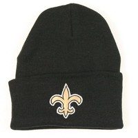 New Orleans Saints Classic Winter Knit Hats - Cuffed and Beanie Styles