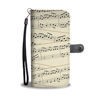 Sheet Music Wallet Phone Case