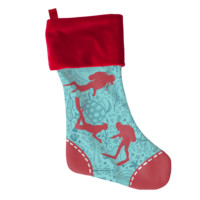 Scuba Christmas Stocking