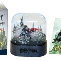 Harry Potter Hogwarts Castle Snow Globe and Sticke