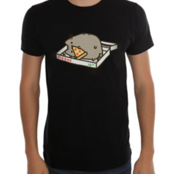 Pusheen Pizza Box T-Shirt