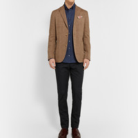 Richard James - Button-Down Collar Linen Shirt | MR PORTER