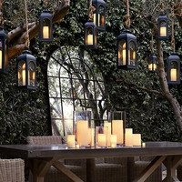 Battery-Operated Indoor/Outdoor Flameless Candle Votive Set
