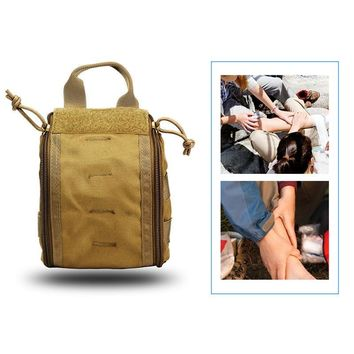 Hunting Medical Molle Pouch Utility Survial Bag EMT First Aid Kit Pouch Rip-Away Bag